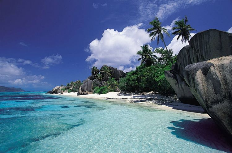Anse Source DArgent en las Islas Seychelles