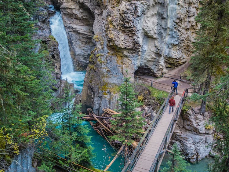 te mostramos el parque nacional banff de canad
