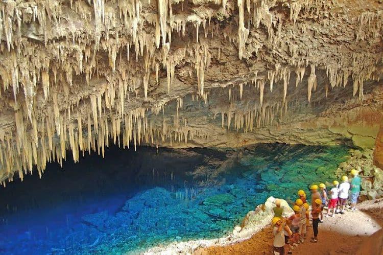 Una de las cuevas del Parque Nacional Chapada dos Guimaraes