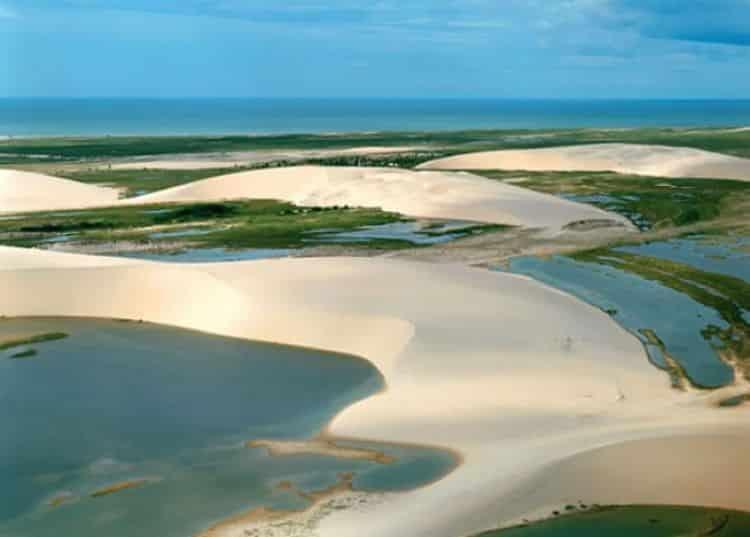 Dunas de arena del Parque Nacional Jericoacoara