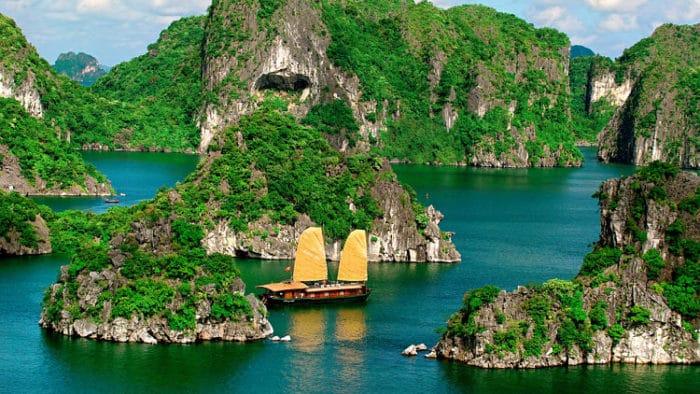Bahía Ha Long. Vietnam