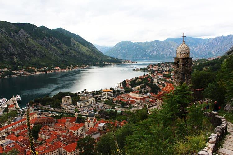 Bahía de Kotor. Montenegro