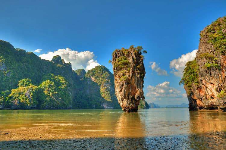 Bahía de Phang Nga. Tailandia