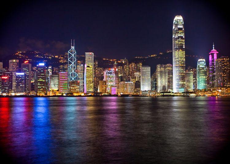 Puerto de Victoria. Hong Kong