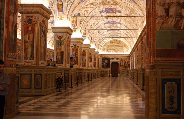 Museos vaticanos en Roma