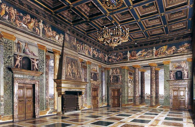 Sala delle Prospettive en la Villa Farnesina