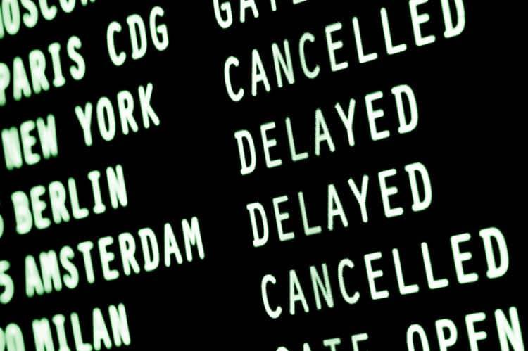 Los seguros cubren problemas de retraso de vuelos