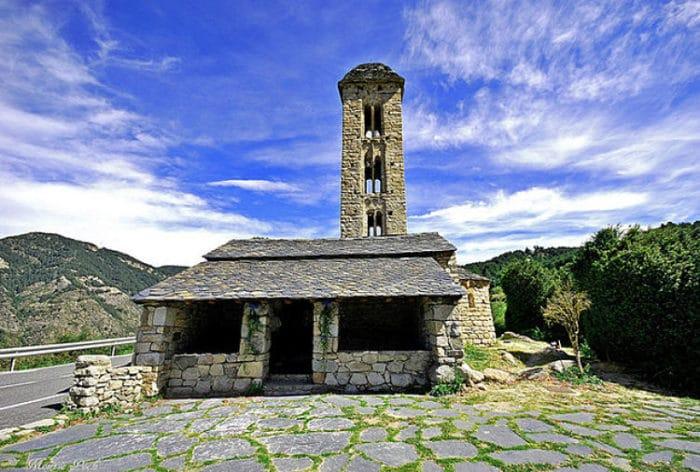 Iglesia a Sant Miquel de Engolasters