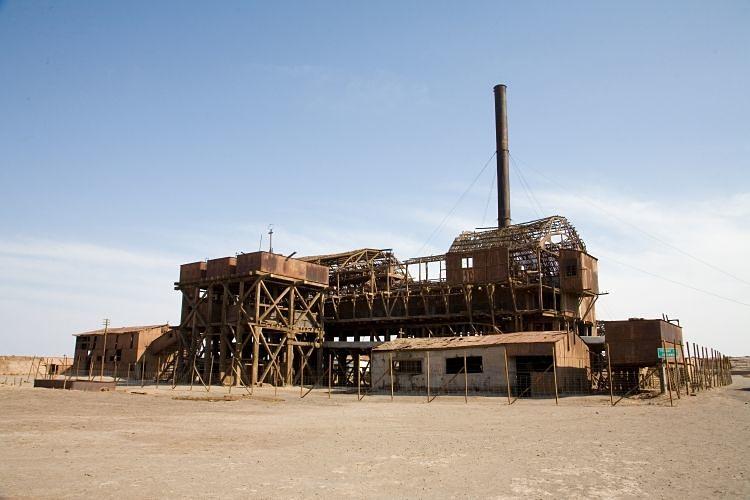 Las Oficinas salitreras de Humberstone