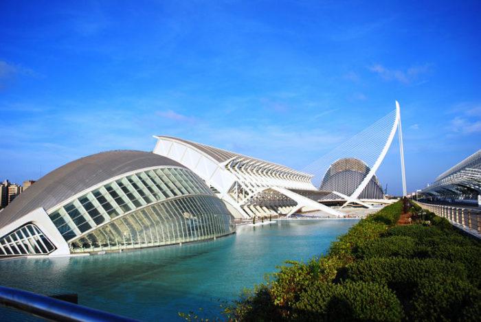 Ciudad de las Artes y la Ciencia. Valencia