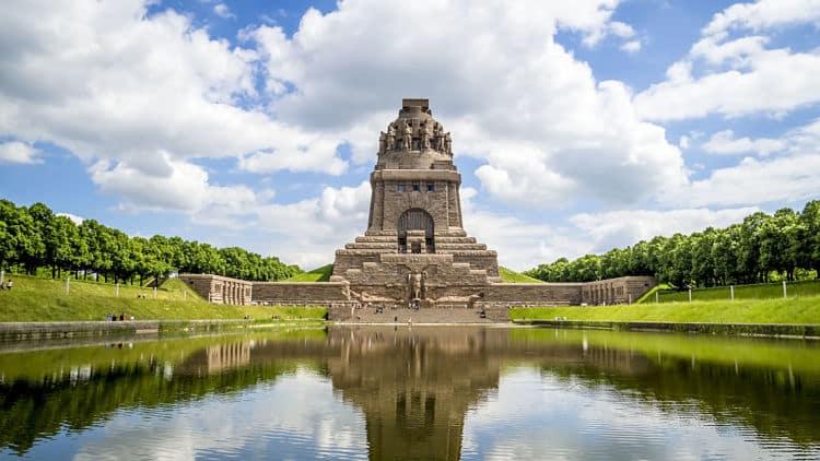 Monumento a la Batalla de las Naciones. Leipzig