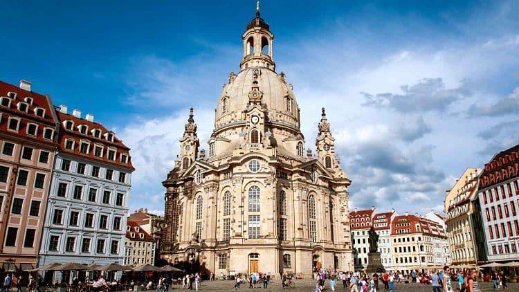 Catedral Frauenkirche en Dresden