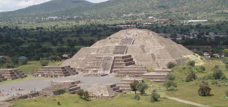 Pirámide el sol, Teotihuacán