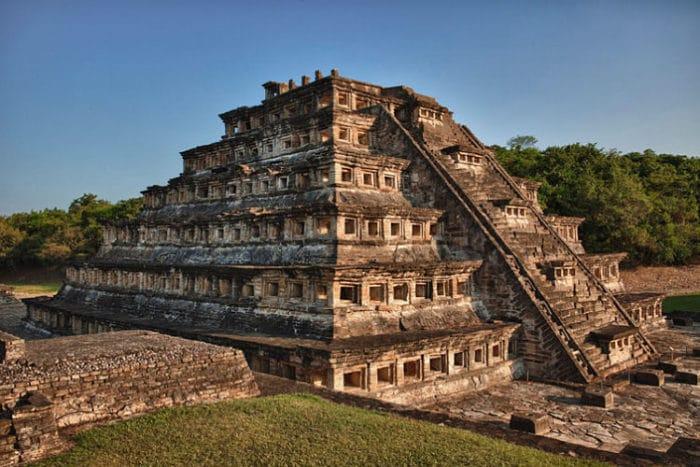 El Tajín, pirámide de los nichos