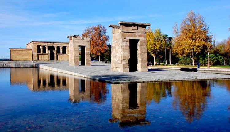 Templo de Debod en el Parque del Oeste