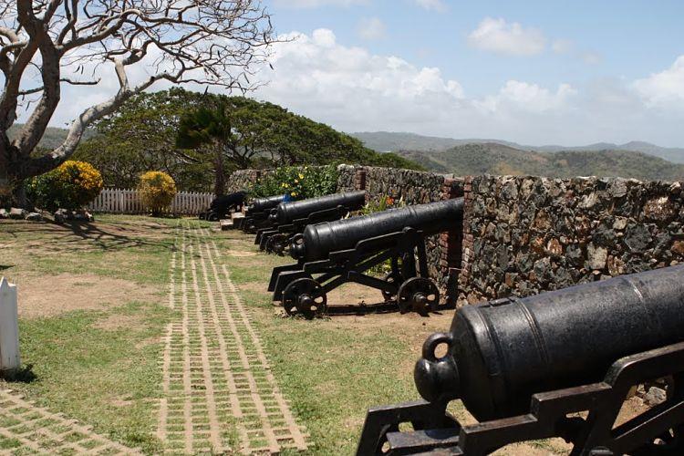 Parte del Fuerte Rey Jorge y Museo de Tobago