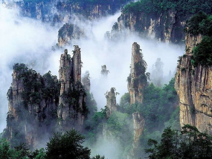 descubre los lugares más extraordinarios del mundo