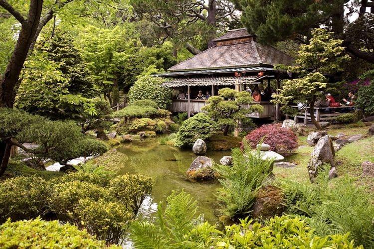 Jardín Japonés de Parque Golden Gate