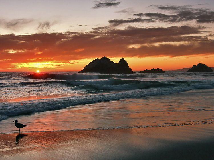 Atardecer en Ocean Beach