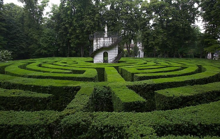 Laberinto de Villa Pisani