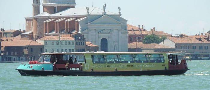 Vaporetti de Venecia