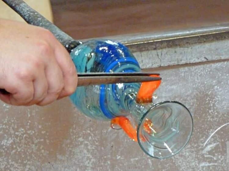 Trabajo en vidrio en Murano