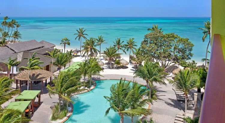 Piscina del Holiday Inn Resort Aruba – Beach Resort and Casino