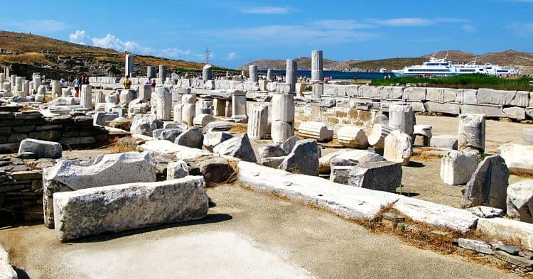 Ruinas en Delos