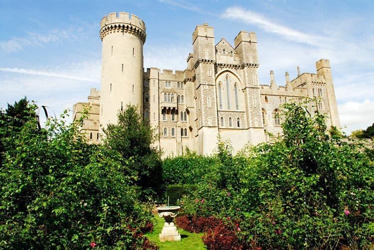 castillos de Inglaterra