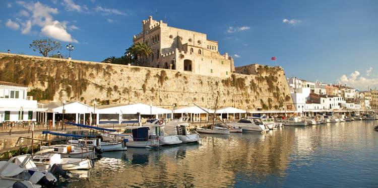 Puerto de la Ciudadela de Menorca