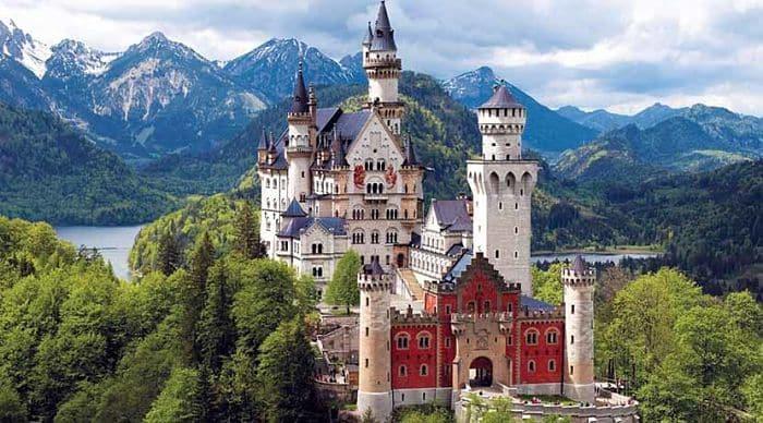 Instalaciones del Castillo de Neuschwanstein