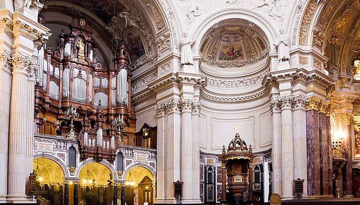 Construcción Catedral de Berlin