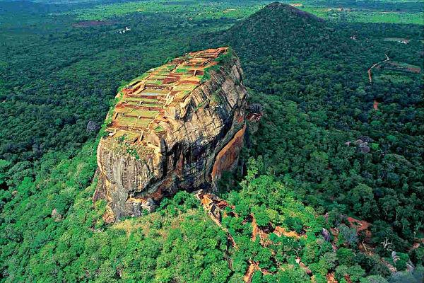 Roca del León Que Ver En Sri Lanka.