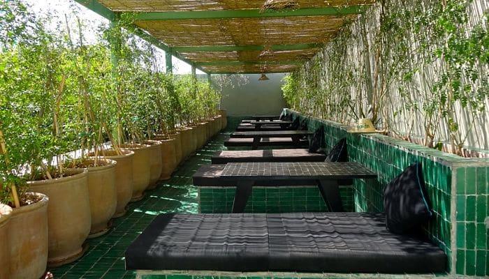 Restaurantes de marrakech los 10 locales que debes probar for Cafe le jardin marrakech