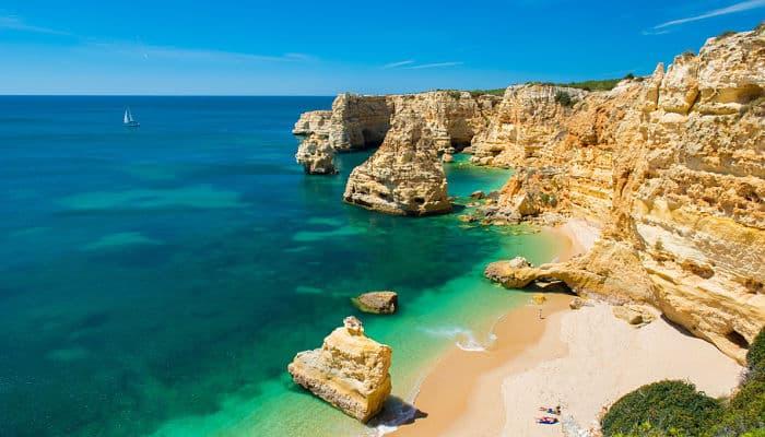 mejores playas del Algarve