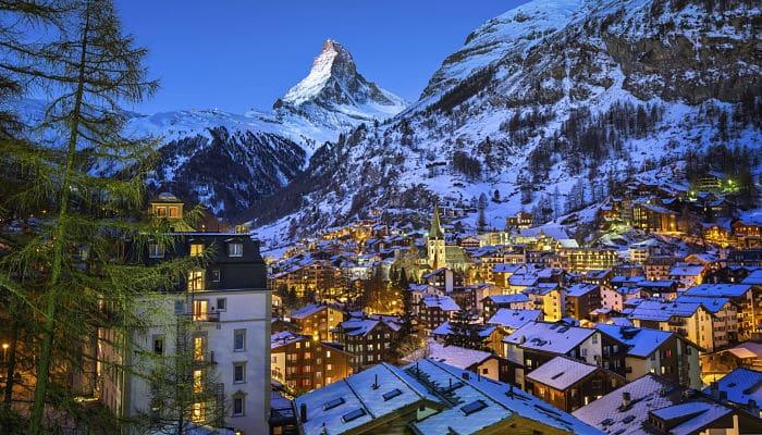 ciudades de Suiza