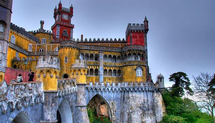 Visitar el Palacio Da Pena