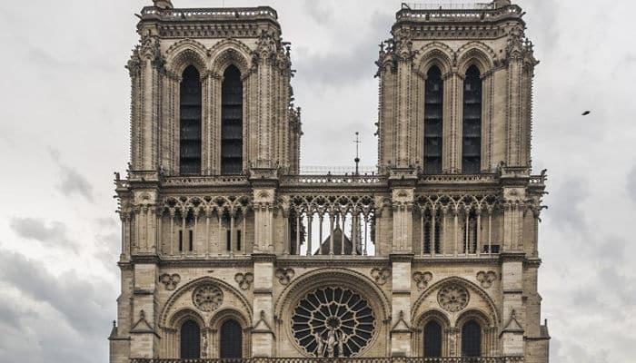 Fachada Catedral de Notre Dame