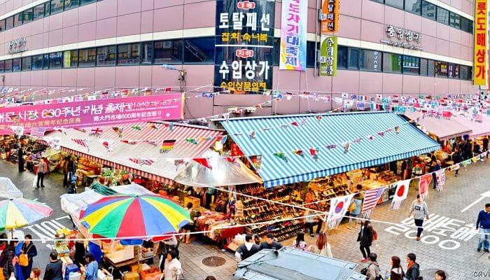 lugares más emblemáticos de Corea del Sur