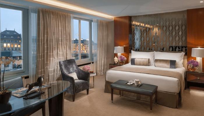 Hotel Mandarin Oriental Geneva Habitaciones