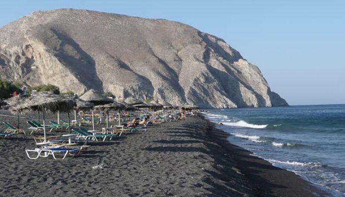 Playa en Perissa