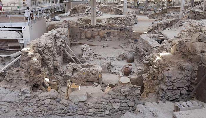 Sitio arqueológico de Akrotíri